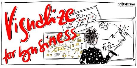 Visualize for business - Flipcharts wirkungsvollgestalten  Tickets