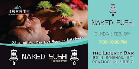NAKED SUSHI & BODY ART EXHIBITION  tickets