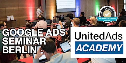 Google Ads Seminar in Berlin am 27. / 28. Oktober 2020
