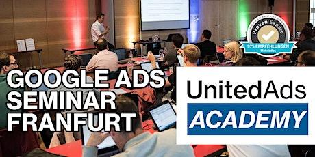 Google Ads Seminar in Frankfurt am 26. / 27. Mai 2020 Tickets