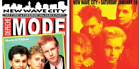 2 for 1 admission to Depeche Mode night 1/18 tickets