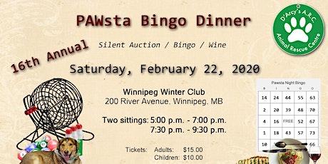 D'Arcy's ARC Pawsta-Bingo Fundraiser 2020 tickets