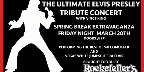 The Ultimate ELVIS  Tribute Show tickets
