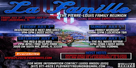 Pierre-Louis Family Reunion tickets