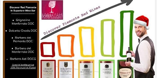 Discover Piemonte Red Wines A1s