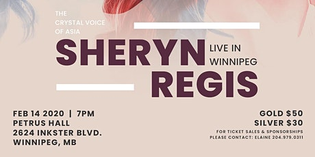 Sheryn Regis Live in Winnipeg tickets