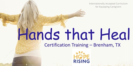 Hope Rising - Hands that Heal Certification Training tickets