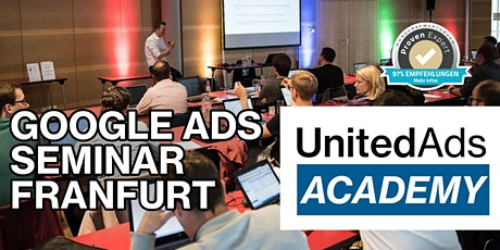 Google Ads Seminar in Frankfurt am 06. / 07. Oktober 2020 Tickets
