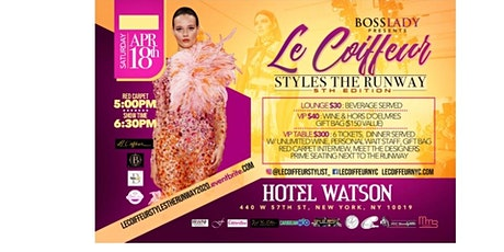 Le Coiffeur Style the Runway 2020 (#LCSTR) tickets