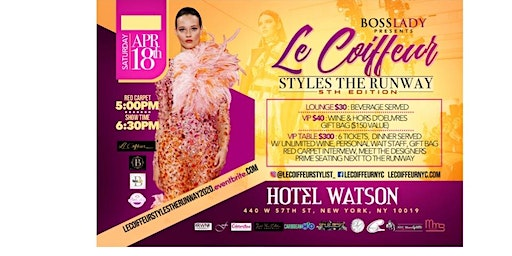 Le Coiffeur Style the Runway 2020 (#LCSTR)