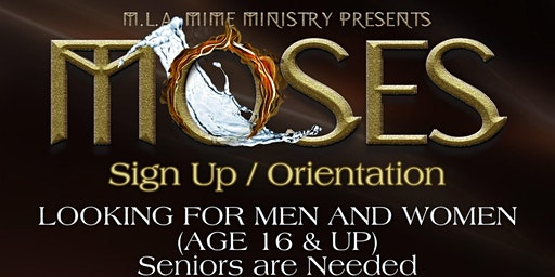 Moses (Sign up's)