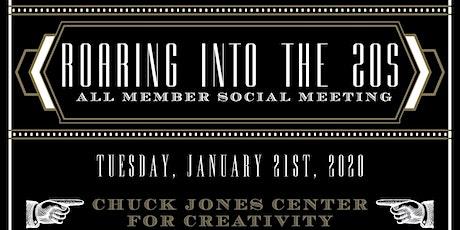 "ABC-OC JANUARY 2020 | All-Member Social | ""Roaring into the 20's"" tickets"