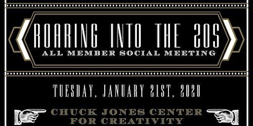 "ABC-OC JANUARY 2020 | All-Member Social | ""Roaring into the 20's"""