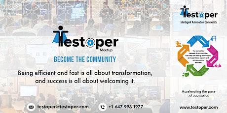 Testoper Meetup Dec 19, 2020 (Blockchain, AI, and AR/VR) tickets