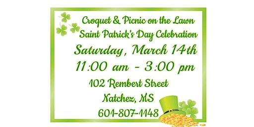 Croquet & Picnic on the Lawn ~ A Saint Patrick's Day Celebration