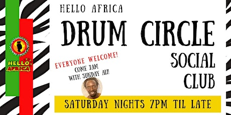 African Drum Circle Social Club tickets