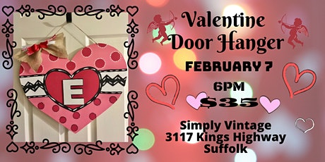 Valentine Door Hanger tickets