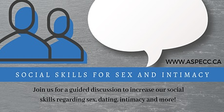 Social Skills for Sex and Intimacy tickets