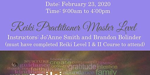 REIKI PRACTITIONER MASTER LEVEL CERTIFICATION WITH SALT LAKE MEDIUM, JO'ANNE SMITH & BRANDON BOLINDER REIKI MASTERS/TEACHERS