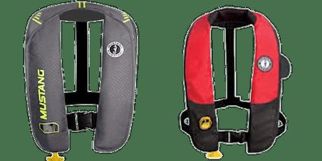 Séminaire de formation |  Les vestes de sauvetage autogonflantes | par Gaël Simon billets