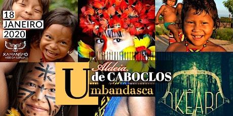 Jornada Umbandasca Aldeia de Caboclos ingressos