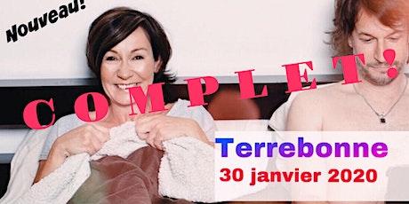 TERREBONNE 30 janvier 2020 Le couple Josée Boudreault billets