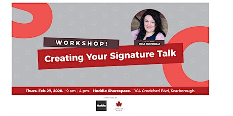 Creating Your Signature Talk - East End Group tickets
