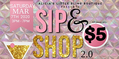 ALICIA'S LITTLE BLING BOUTIQUE SIP N SHOP 2.0