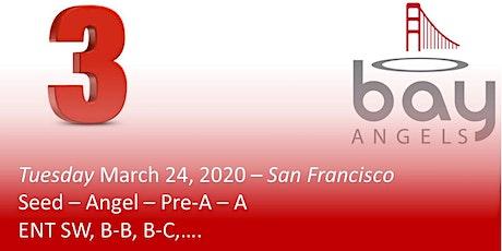 Bay Angels Investors Event - March 24, 2020- San Francisco tickets