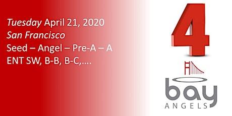 Bay Angels Investors Event - April 21, 2020- San Francisco tickets