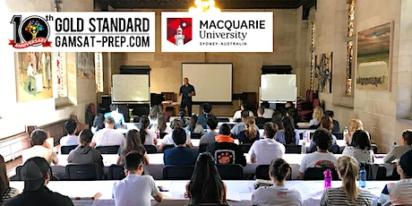 Free GAMSAT Class at Macquarie University 2020 | Gold Standard tickets