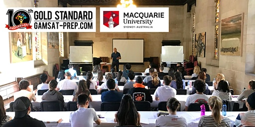 Free GAMSAT Class at Macquarie University 2020 | Gold Standard