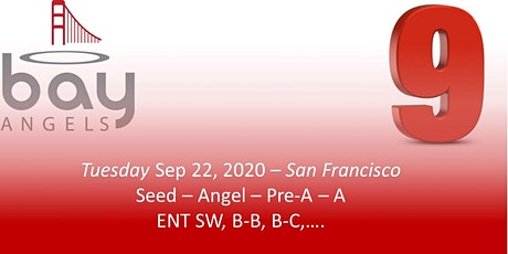 Bay Angels Investors Event - Sep 22, 2020- San Francisco tickets