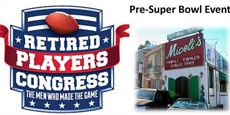 VIP Pre-Super Bowl Event with Retired NFL Players Congress tickets