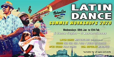 Latin Dance Summer Workshops [x9] 2020  tickets