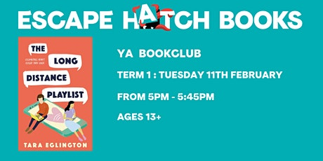YA Book Club for ages 13 and above tickets