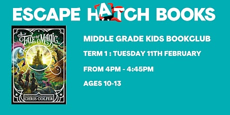 Middle Grade Kids Book Club tickets