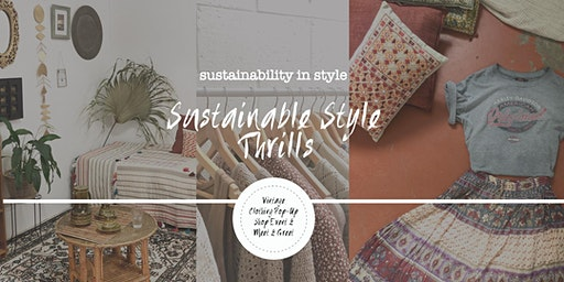 Sustainable Style Thrills | Meet & Greet Vintage Pop-Up Shop