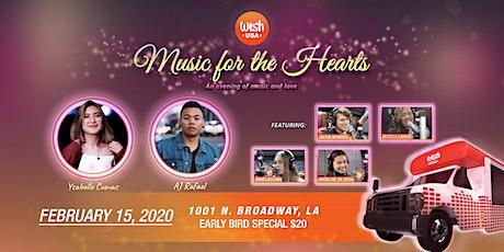 Music for the Hearts: AJ Rafael & Ysabelle Cuevas tickets