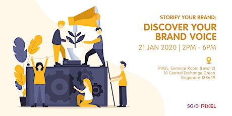 Storify Your Brand - Discover Your Brand Voice tickets
