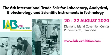 Cambodia Lab Expo 2020 tickets