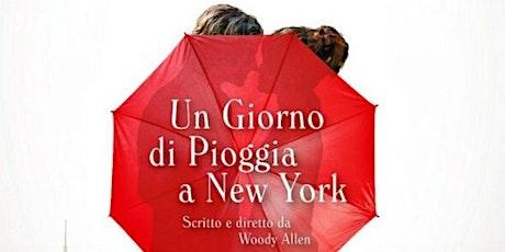 Un giorno di pioggia a New York biglietti