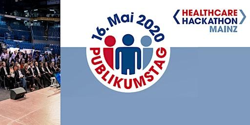 Publikumstag Healthcare Hackathon Mainz 16.Mai 2020