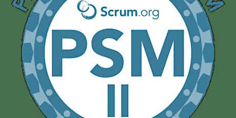 Advanced Professional Scrum Master (PSM II)- Belgium tickets