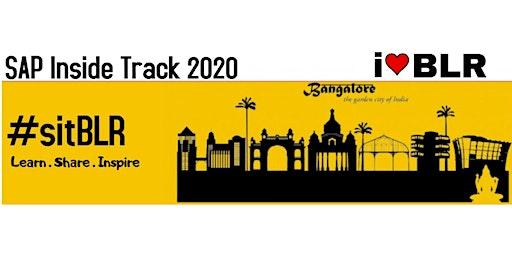 SAP Inside Track Bangalore 2020 - #sitBLR