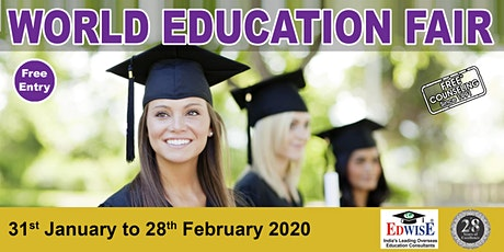 World Education Fair in Indore tickets