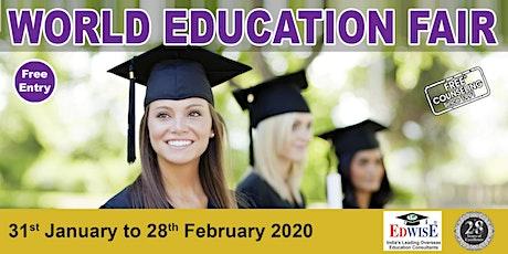 World Education Fair in Ahmedabad tickets