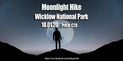 Moon Light Hike: Wicklow Lough Dan