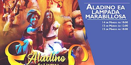 ALADINO E A LAMPADA MARABILLOSA de Teatro Avento Producións na Sala Ártika bilhetes