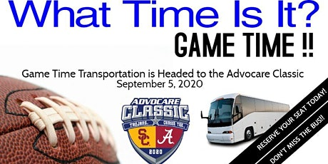 09/05/2020 Advocare Classic Transportation & Shuttle tickets
